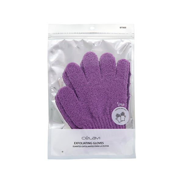 Celavi 2PC Exfoliating Gloves