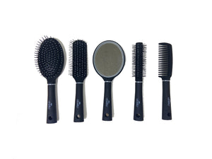 Celavi 5PC Hair Brush and Comb Set