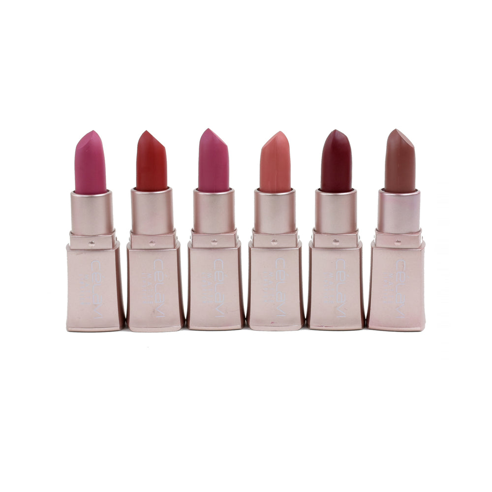 Nude Silky Matte Lipstick (Set of 6)