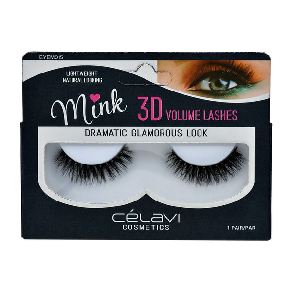 Celavi 3D Volume Mink Eyelashes #21