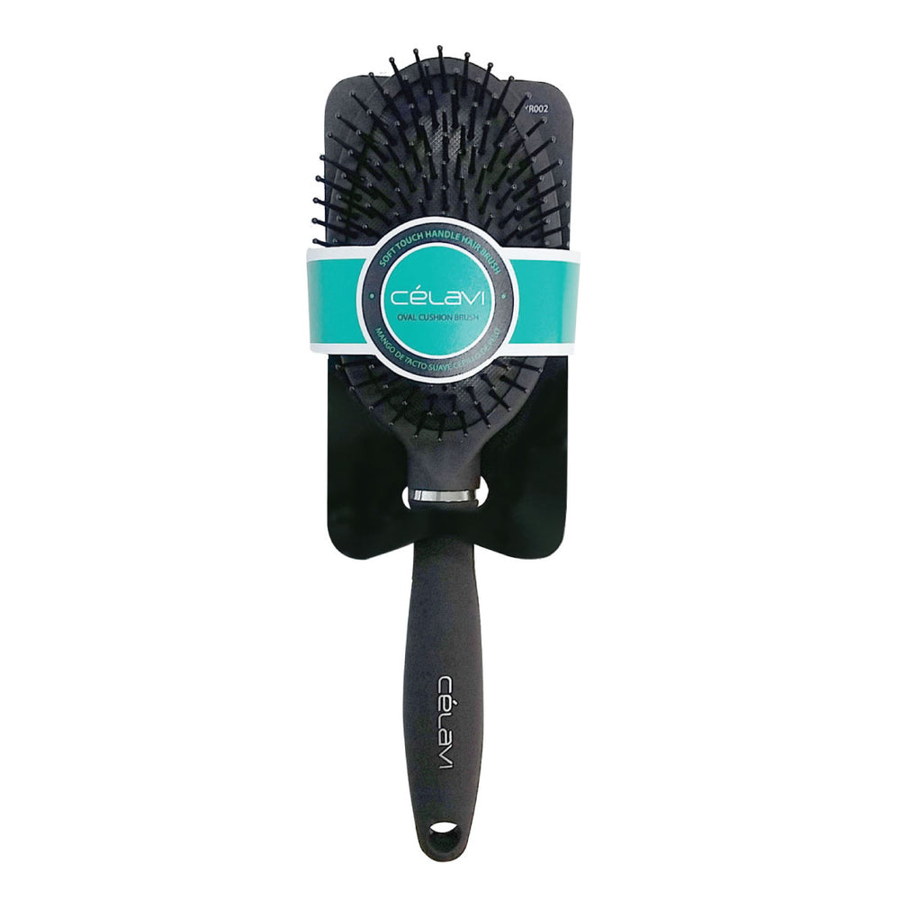 Celavi Smooth Handle Oval Cushion Brush