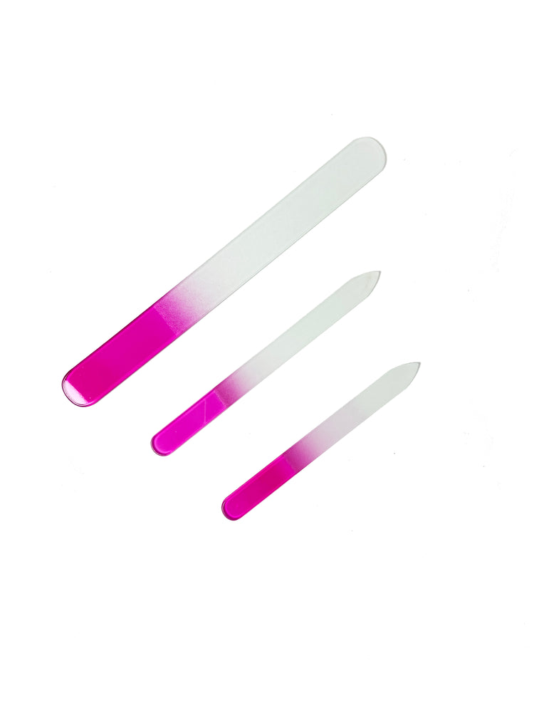 3PC Glass Nail File Set