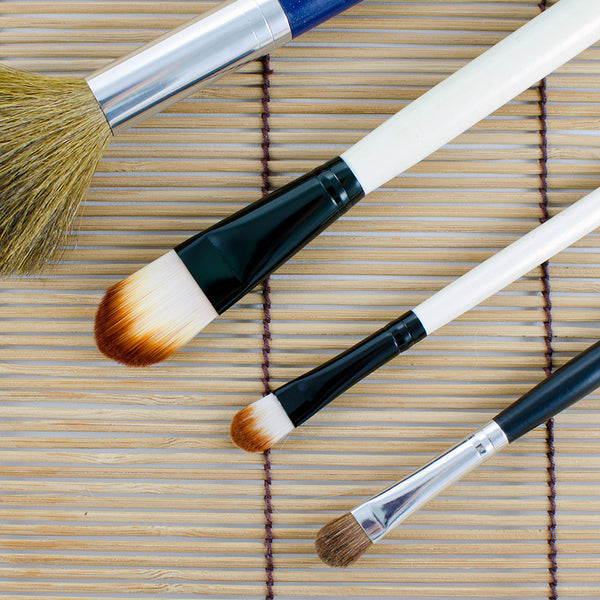 Celavi Bamboo Angled Eyeshadow Brush