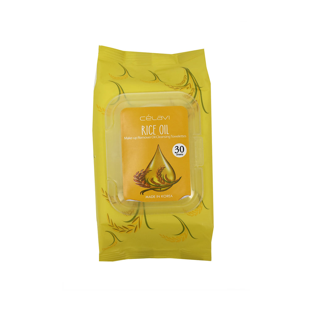 Celavi Deep Cleansing Oil Makeup Removing Towelettes 1 Pack - 30 Sheets