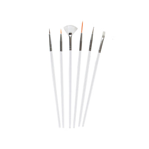 Load image into Gallery viewer, Celavi 6PC Nail Art Brush Set