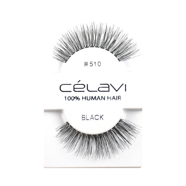 Celavi Human Hair Eyelashes #510