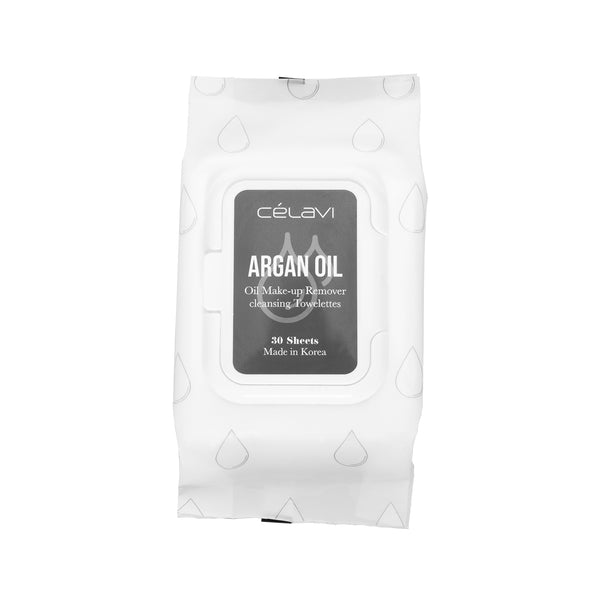 Celavi Argan Oil Cleansing Wipe