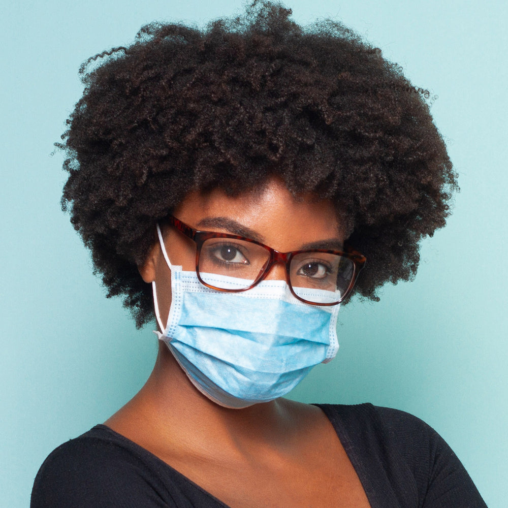 Disposable Filter Mask - 3 Layer Protection | Pack of 50