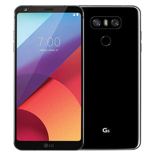 Original Unlocked LG G6 Quad Core 5.7 Inches 4GB RAM 64GB ROM Dual SIM Dual Rear Camera 13.0MP LTE 4G  Mobile Phone
