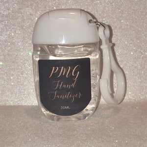 PMG Refreshing Gel HAND SANITIZER Key Chain - PMG BEAUTY