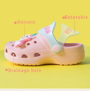 Unicorn Kids Crocs - PMG BEAUTY