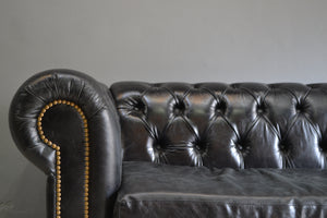 SILLON CHESTERFIELD NEGRO