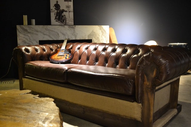 SOFA CAMA CHESTERFIELD ESTRUCTURAL