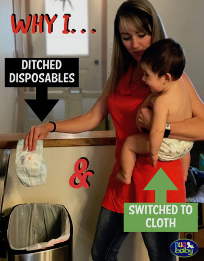 Why I DITCHED disposables and SWITCHED to cloth nappies (diapers)