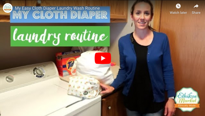 nuababy cloth nappy (diaper) wash routine