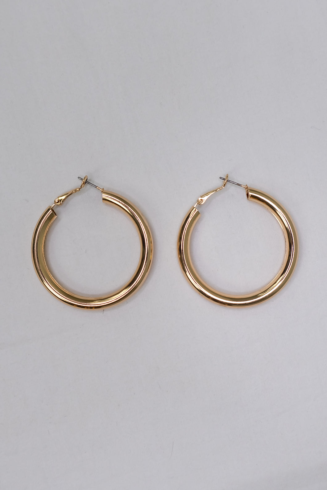 Gold Statement Hoops