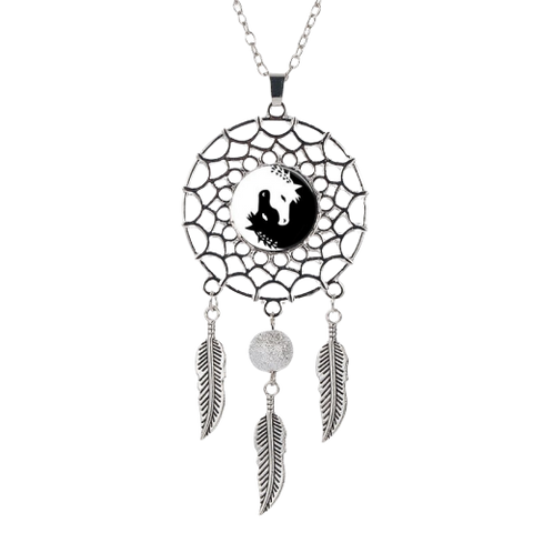 Collier Cheval Yin Yang