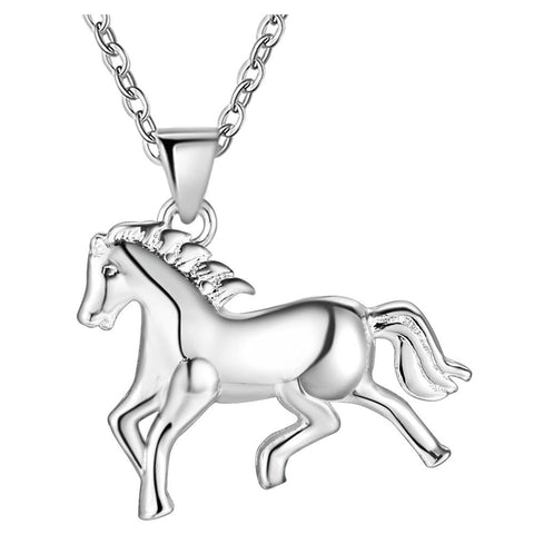 Collier cheval au galop