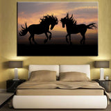 cheval peinture photo