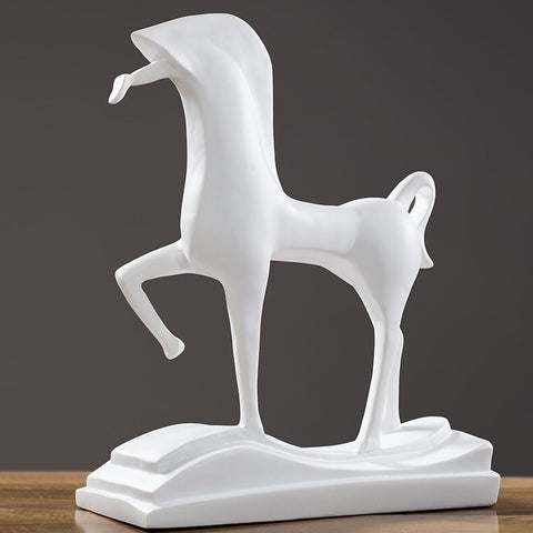 Statue Cheval <br/> Abstrait