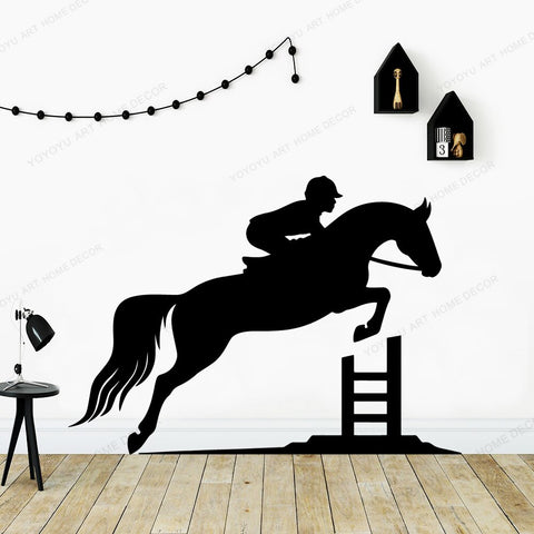 Stickers Equitation