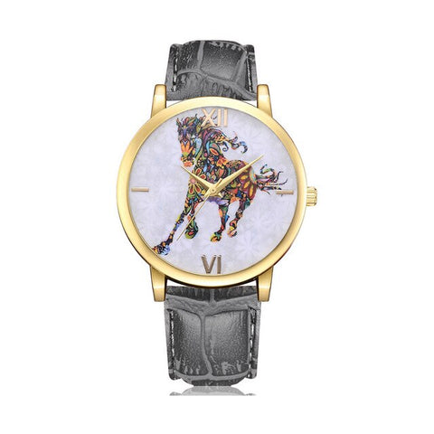 Montre Cheval </br> Multicolore