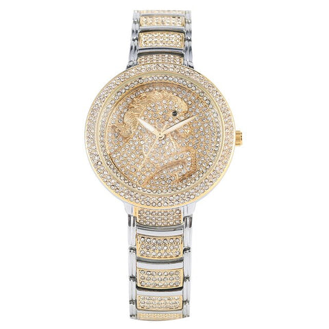 Montre cheval diamant