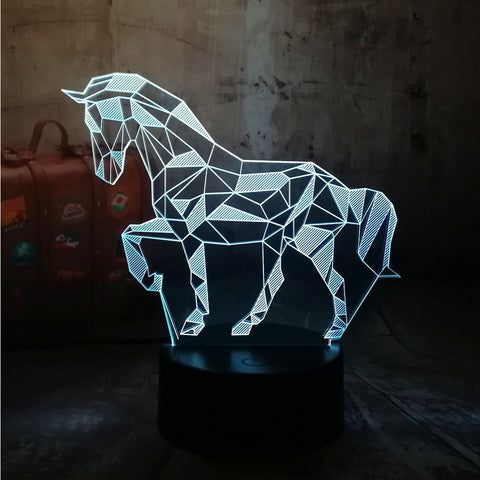 Lampe cheval led