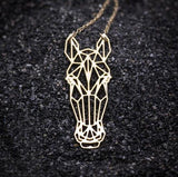 Collier Cheval <br/> Origami