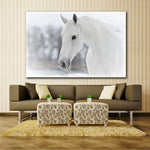 reproduction tableau cheval blanc