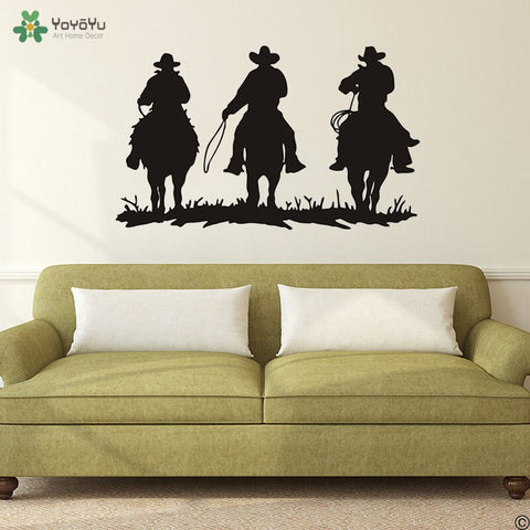 Stickers Cheval <br/> Cowboy