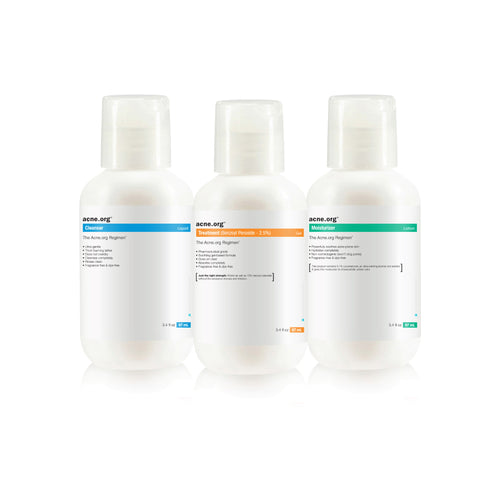 The Acne.org Regimen Travel Kit 100ML - EVE