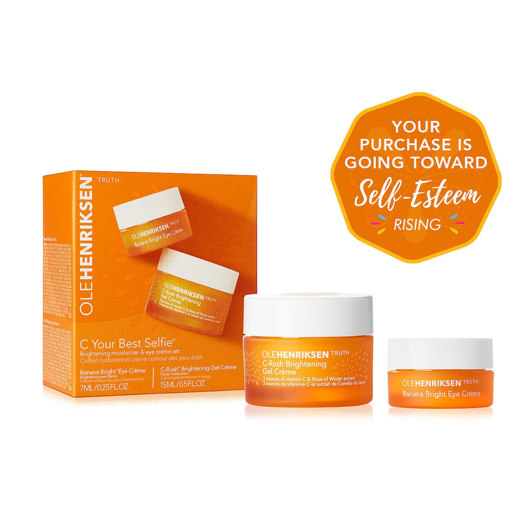 C Your Best Selfie Brightening Moisturizer & Eye Crème Set