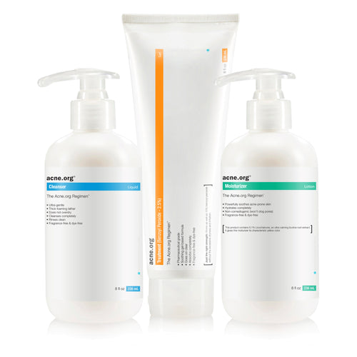 The Acne.org Regimen Kit 236ML - EVE