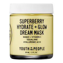 Load image into Gallery viewer, Superberry Hydrate + Glow Dream Mask with Vitamin C