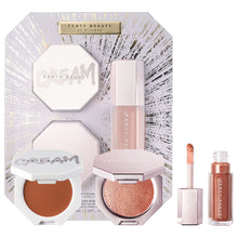 Load image into Gallery viewer, Fenty Glow Trio Face Lip & Body Set
