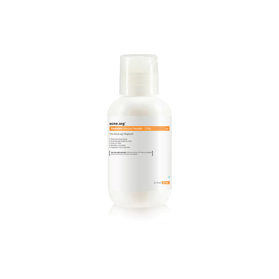 Acne.org Treatment (Benzoyl Peroxide – 2.5%) - EVE