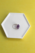 Load image into Gallery viewer, Natural Amethyst Ring