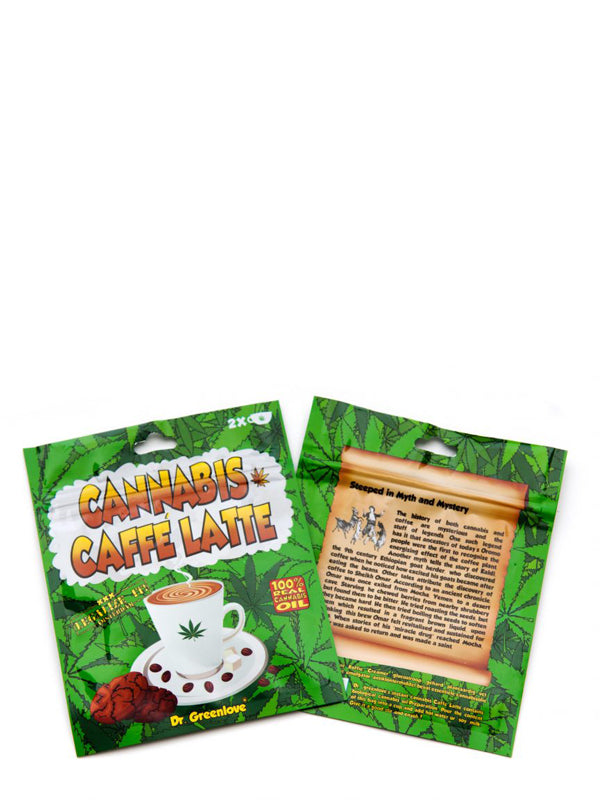 CANNABIS INSTANT CAFFE LATTE