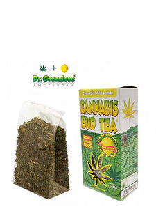 LEMON CANNABIS BUD TEA