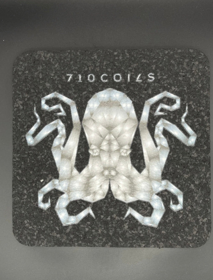 Gray square Octopus mood for mats