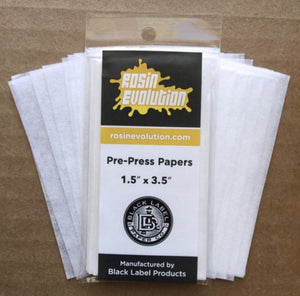 Rosin Evolution Pre-Press Papers Large