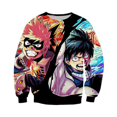 My Hero Academia Sweatshirt - Katsuki and Izuku Sweatshirt