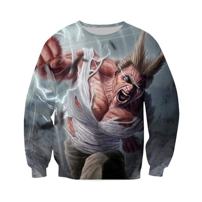 My Hero Academia Sweatshirt - Realistic All Might Sweatshirt