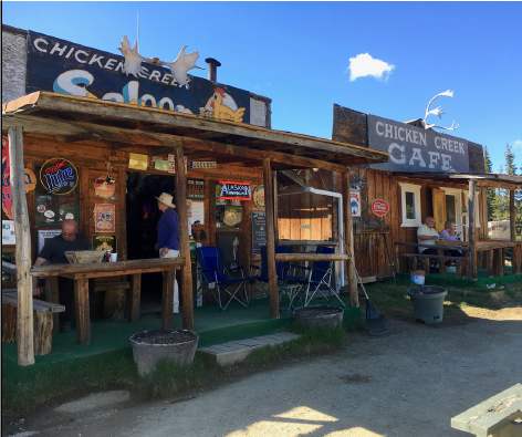 Life on the Open Road: Chicken, Alaska
