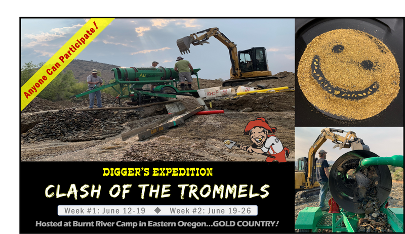 Clash of the Trommels hosted at Burnt River Camp - Week 1
