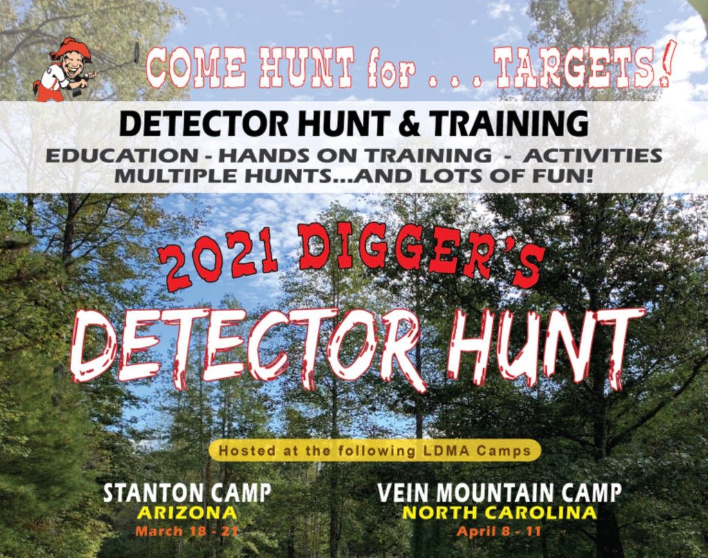 Detector Hunt at Vein Mountain • April 8 - 11 2021