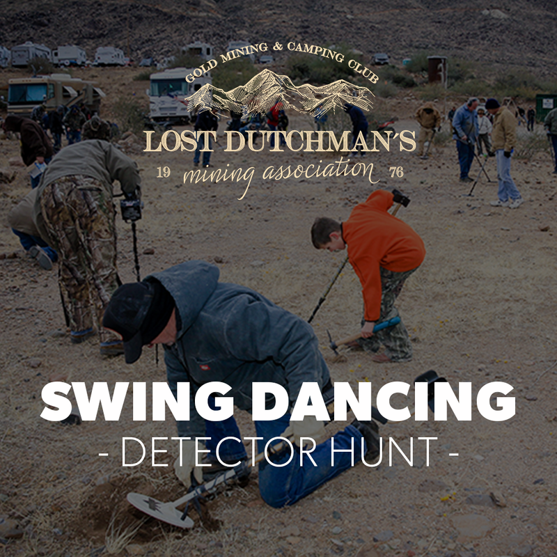 Detector Hunt at Blue Bucket - July 10-12, 2020