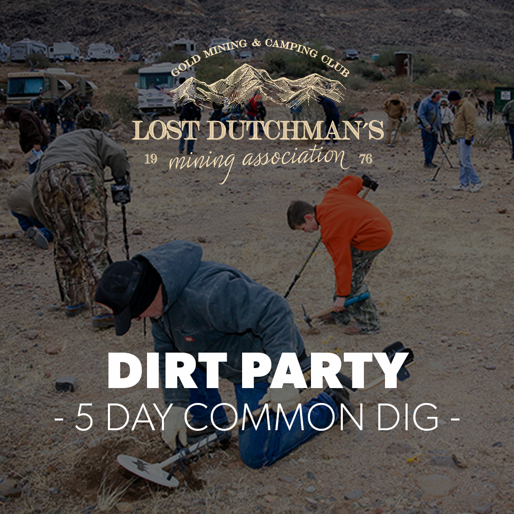 Dirt Party at Blue Bucket - July 7 - 12, 2020 - New Date!