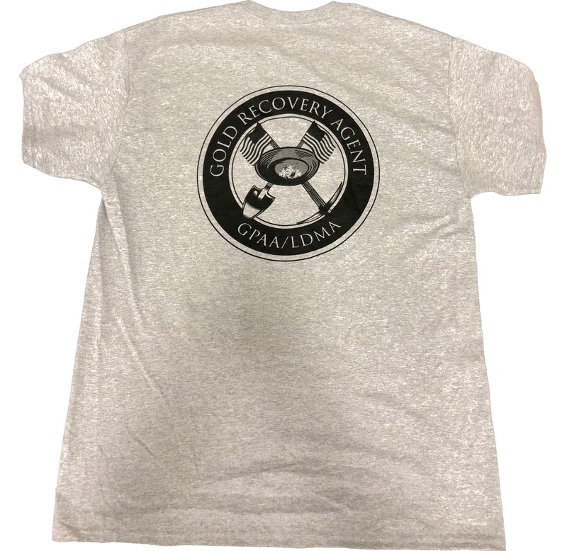 LDMA Gold Recovery Agent T-Shirt - Gold Prospectors Association of America